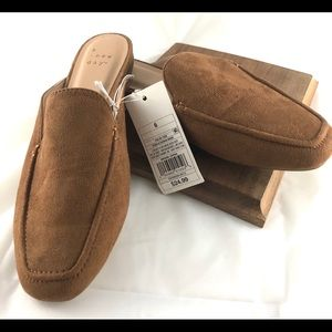 Women's Square Toed Mules